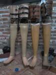 cara pembuatan kaki palsu Indonesia