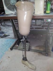 pembuatan kaki palsu terbaru