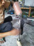pembuatan kaki palsu di Solo