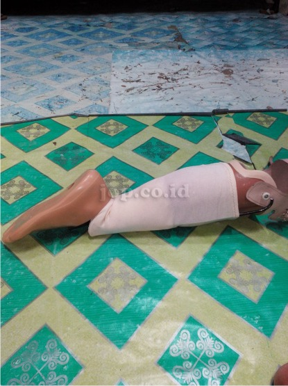 desain kaki palsu yang unik di madiun