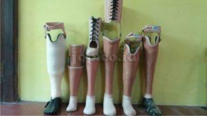 jenis kaki palsu di Jawa