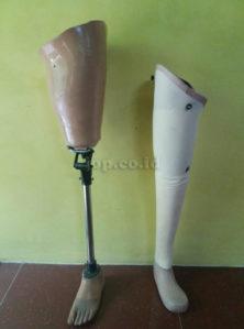 type kerangka kaki palsu