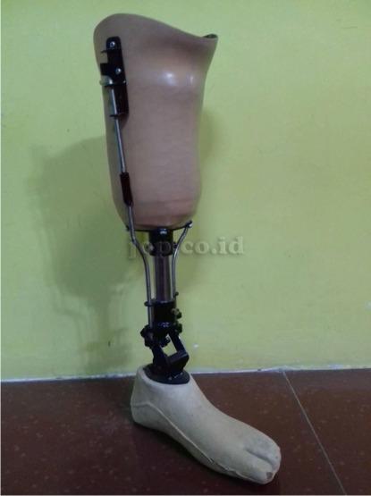 kaki palsu unik di pulau Jawa